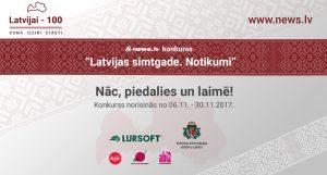 """Konkurss """"Latvijai – 100. Domā. Izzini. Stāsti!"""""""