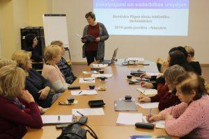 Informatīvais seminārs Rīgas skolu bibliotekāriem