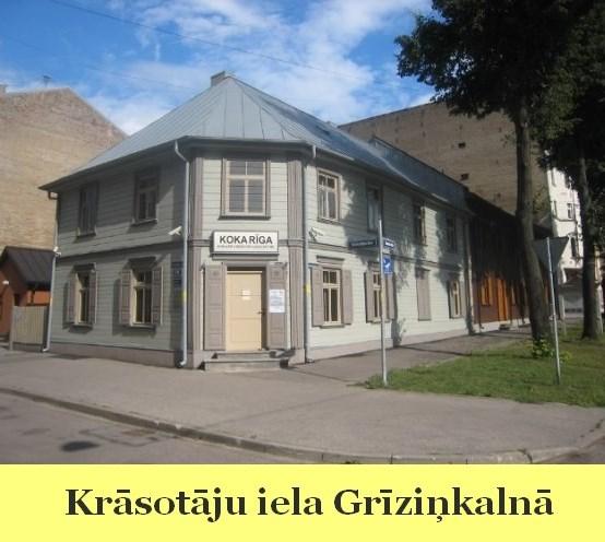 Krāsotāju iela Grīziņkalnā