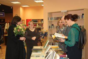 Izstādes «Raksti» atklāšana Rīgas Centrālajā bibliotēkā