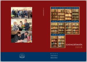 Jaunā Rīgas Centrālās bibliotēkas gadagrāmata ir klāt!