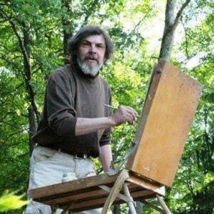 """Jāņa Puriņa gleznu izstāde """"Brīnišķīgās ainavas"""""""