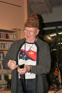 """Pētera Struberga grāmatas """"Papua Jaungvineja tuvplānā"""" prezentācija"""