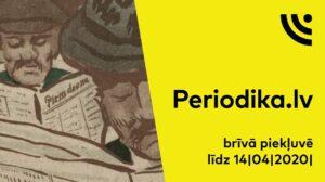 Brīvi pieejama Periodika.lv