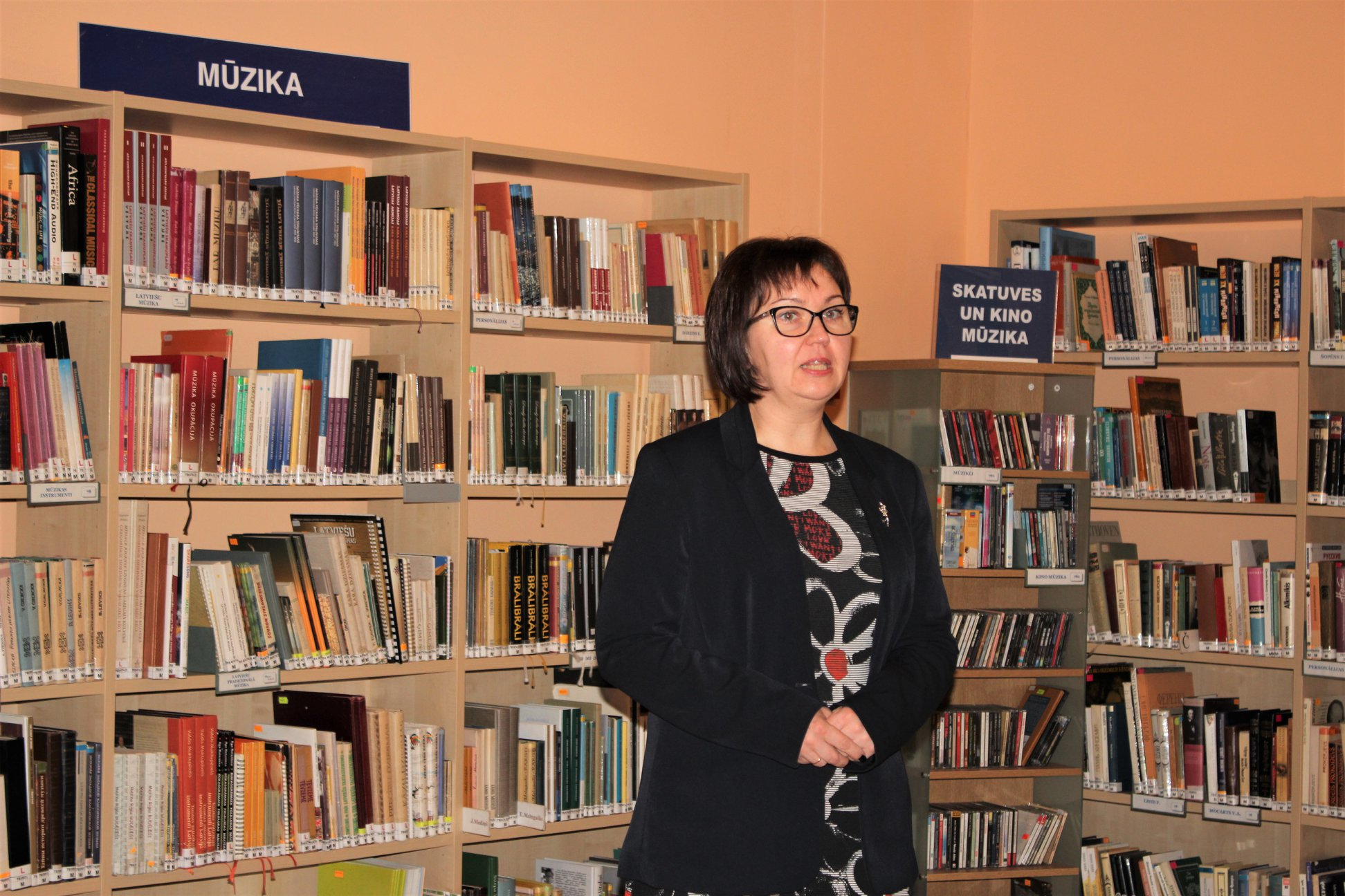 RCB Bibliotēku dienesta galvenā eksperte Vineta Baško