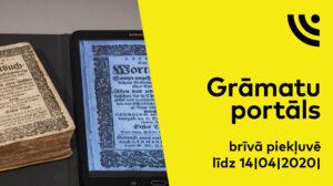 Digitālās bibliotēkas grāmatu portāls – brīvā piekļuvē