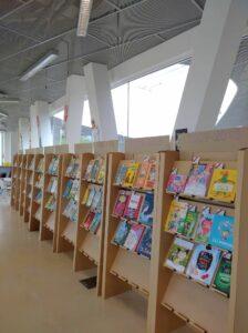 """Ceļojošā izstāde """"100 grāmatas bērniem"""" Pārventas bibliotēkā Ventspilī"""