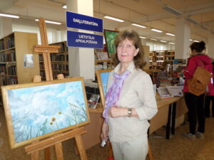 "Jeļenas Korņijenko gleznu izstāde ""Vasaras priekšnojauta"""