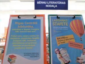 """Lasi grāmatas un piedalies """"Lasīšanas stafetē""""!"""