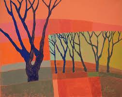 """Līgas Baņķieres gleznu izstāde """"PaSAULE KOKOS"""""""