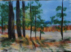 """Jegora Gorodecka filca gleznu izstāde  """"Brīnišķīga, dzirkstoša, pulsējoša"""""""