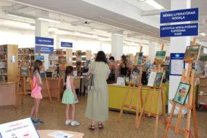 Viena diena bibliotēkas dzīvē: Rīgas Centrālā bibliotēka