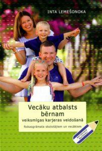 """Atcelta grāmatas """"Vecāku atbalsts bērnam veiksmīgas karjeras veidošanā"""" prezentācija"""