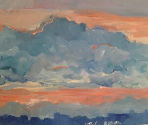 """Intas Glodas gleznu izstāde """"Brīnumainā daba"""""""
