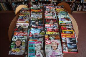 Bibliotēkas piedāvājums – laikraksti un žurnāli
