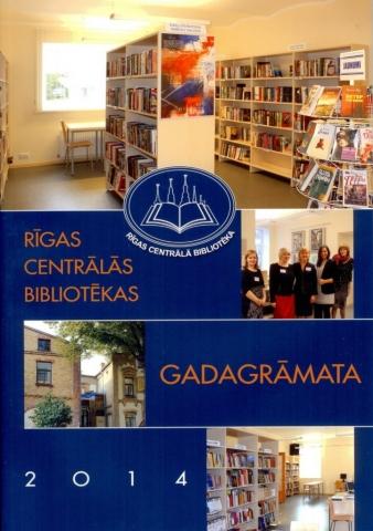 Rīgas Centrālās bibliotēkas gadagrāmata 2014